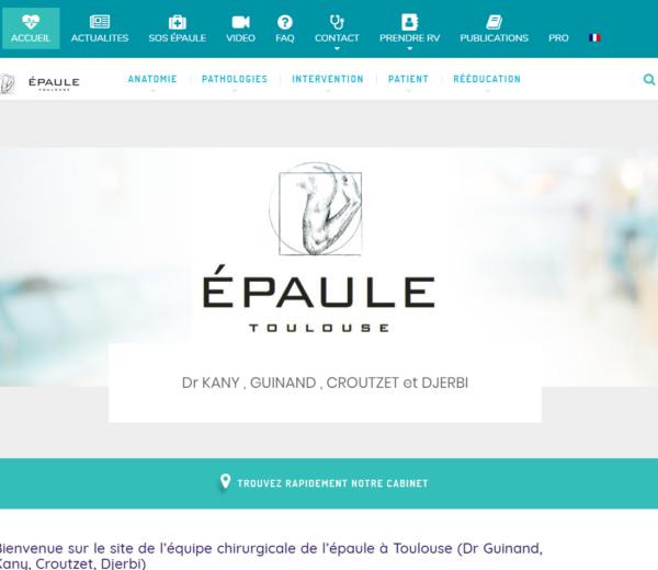 Création site internet epaule-toulouse.com